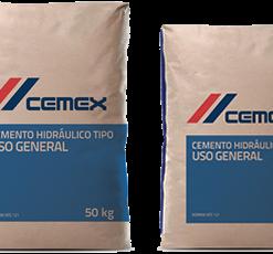 saco cemento gris uso general