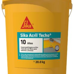 sika acril techo  blanco galon